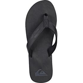 Quiksilver Molokai Nubuck Chaussures Homme, solid black